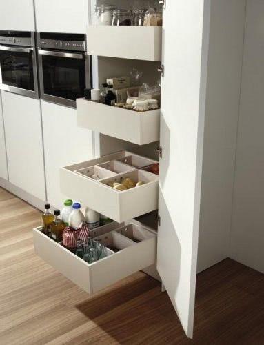 Equipamiento y accesorios de cocina acana interiorismo for Accesorios interior cajones cocina