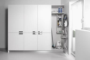 Dise o y planificaci n de cocinas acana interiorismo - Armarios para guardar productos de limpieza ...