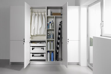 Dise o y planificaci n de cocinas acana interiorismo for Muebles para lavanderia de casa