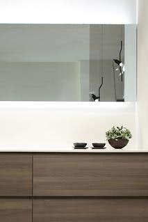 Equipamiento y accesorios de ba o acana interiorismo - Espejo bano retroiluminado ...