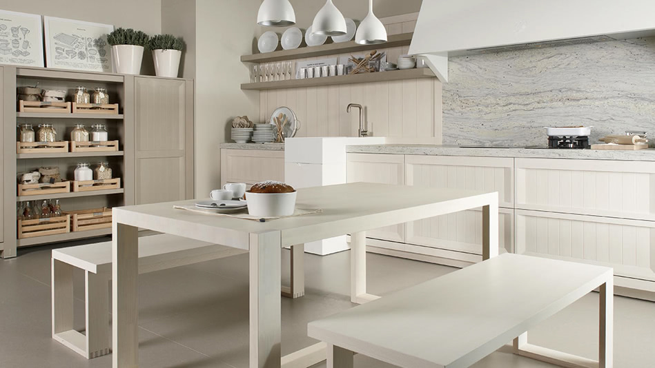 Blanco nata piedra cocinas dica acana interiorismo for Cocinas dica precios