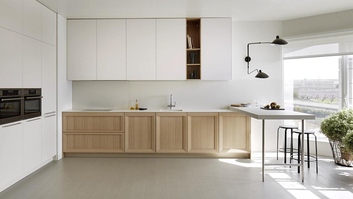 Muebles de cocina a medida con calidad artesanal acana interiorismo - Cocinas modernas de madera ...