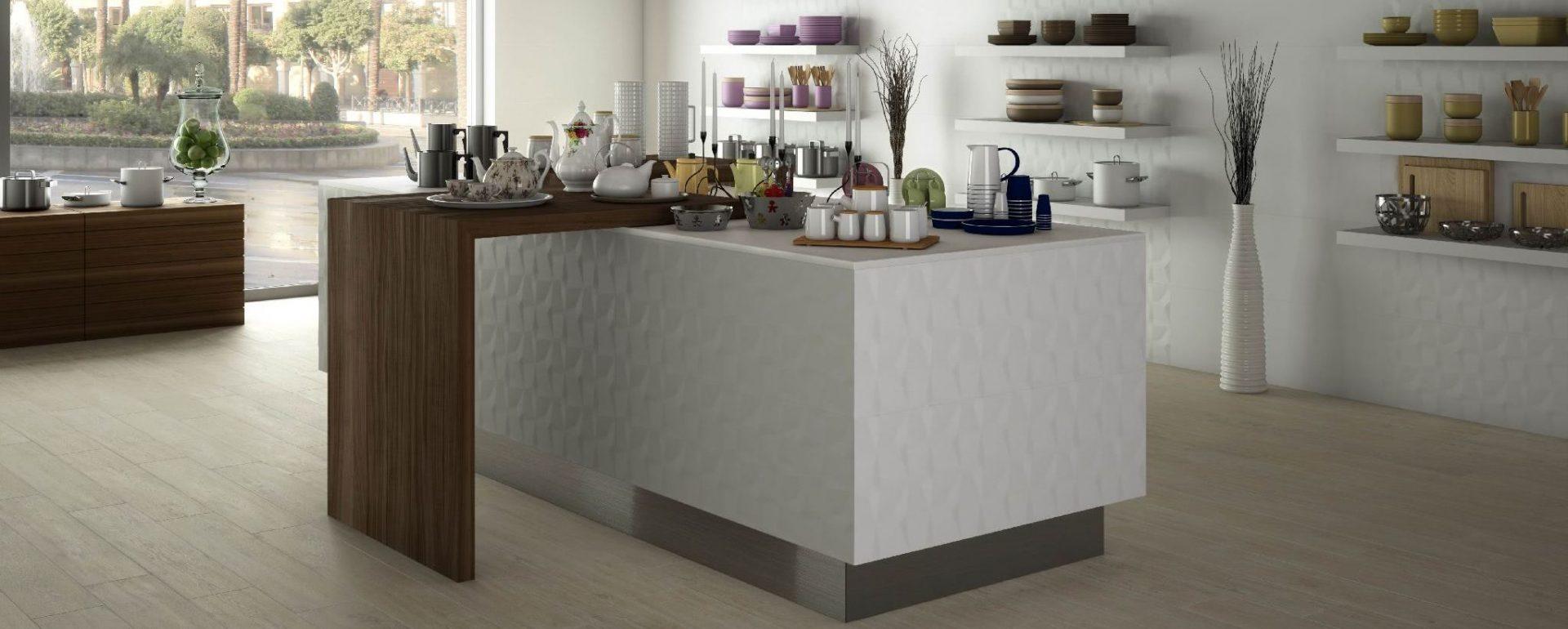 Muebles para el hogar acana interiorismo for Pavimentos para cocinas
