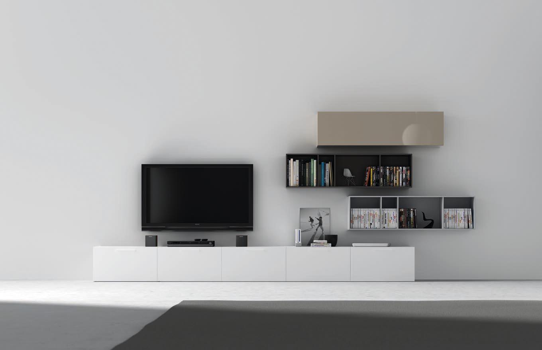 Mesas de tv acana interiorismo - Muebles bajos salon ...